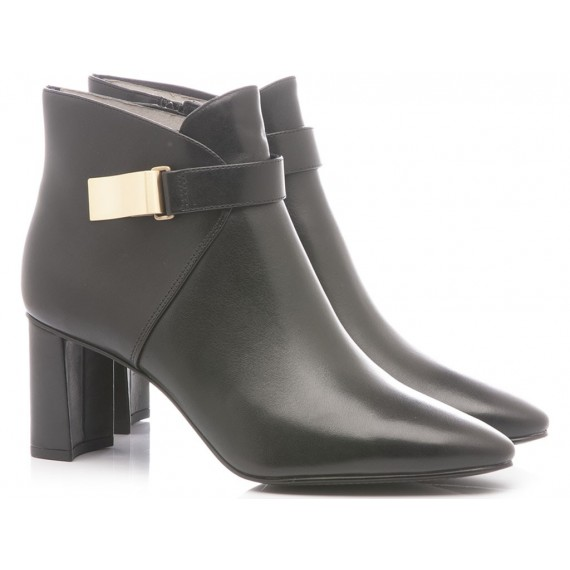 What For Women's Ankle Boots Leather Black
