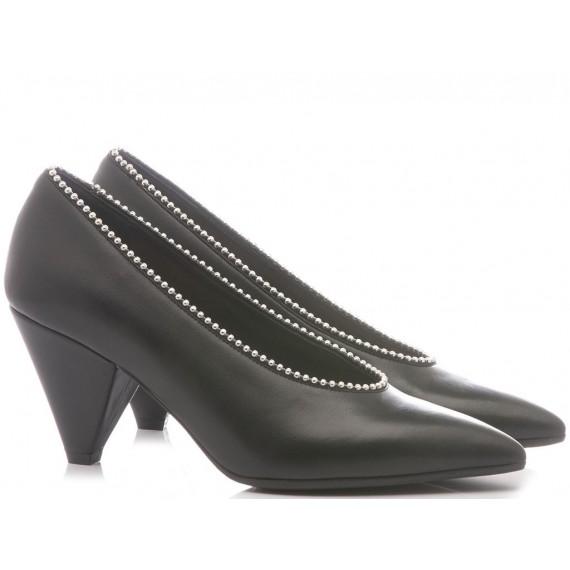 Chantal Woman's Shoes Decolletè Black 733