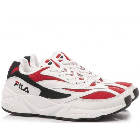 Fila Sneakers Uomo 94 Low White-Red