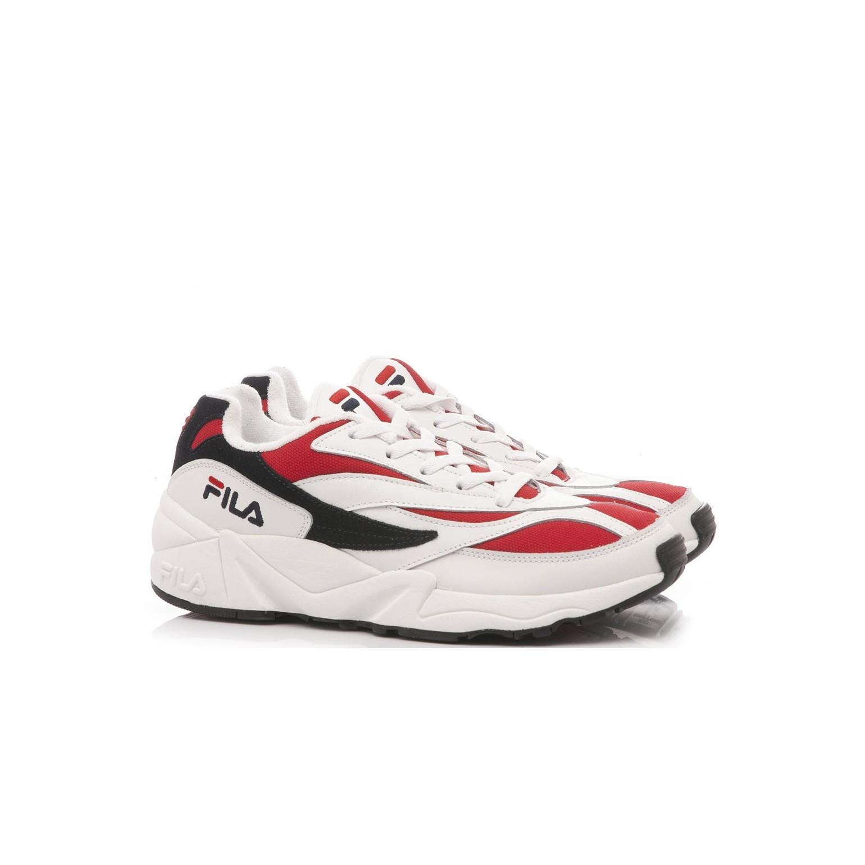 Fila Men's Sneakers 94 Low White-Red