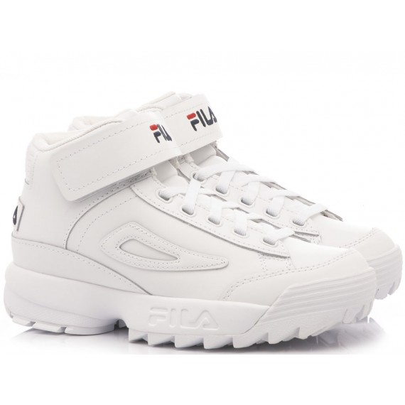 Fila Sneakers Donna Disruptor Mid WMN White