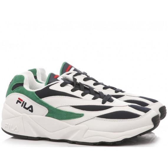 Fila Sneakers Uomo 94 Low White-Navy