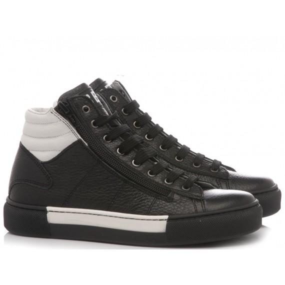 Ciao Sneakers Alta Bambini Nero 8839