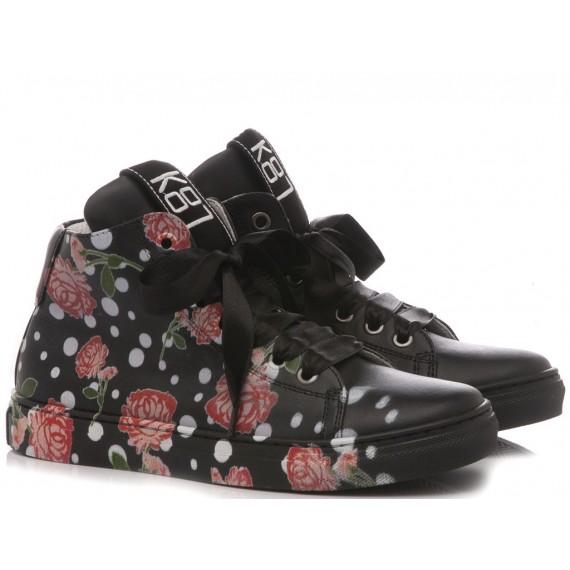 Be Kool Sneakers Bambina Pelle Nero