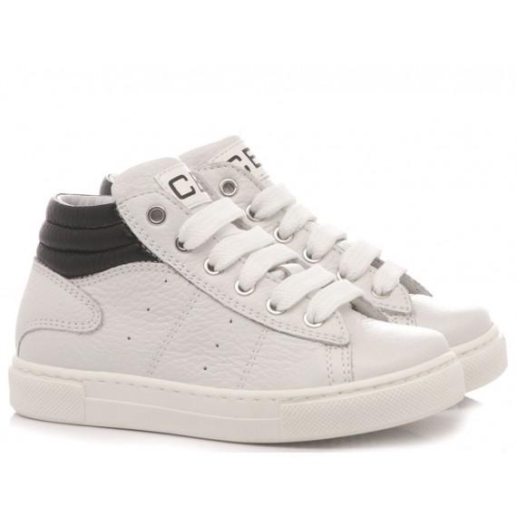 Ciao Sneakers Alta Bambini Bianco 6766