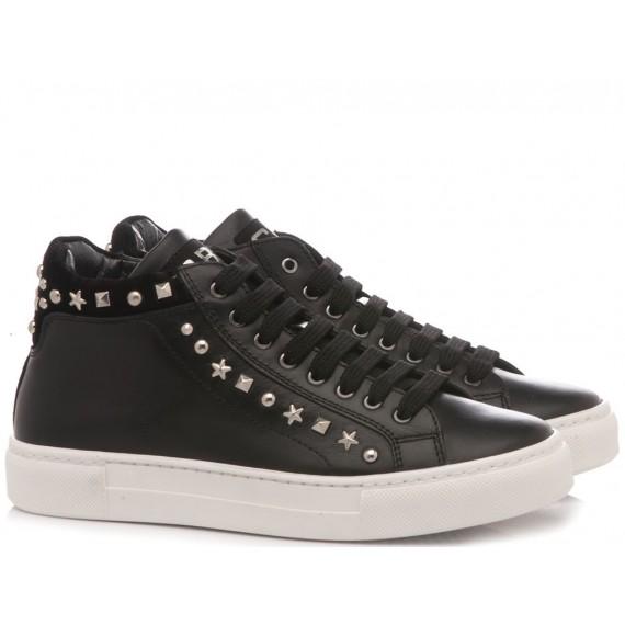 Ciao Sneakers Alta Bambina Nero 7859