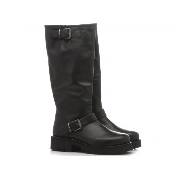 Keb Women's Boots Leather Black 982