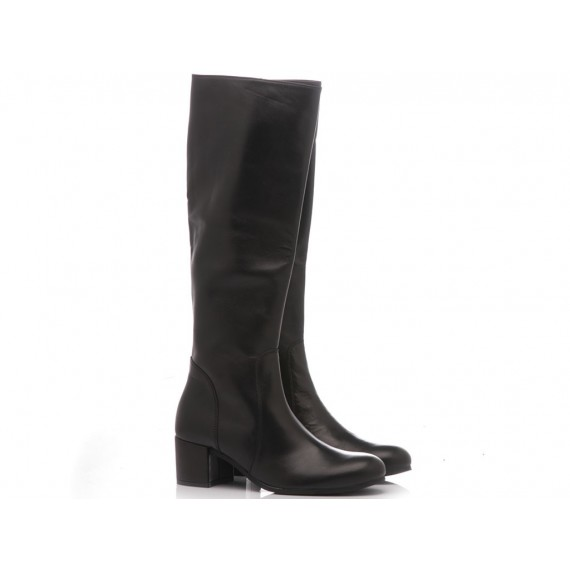 Gianluca Pisati Women's Boots Leather Black NG902