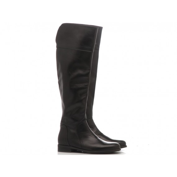 Gianluca Pisati Women's Boots Leather Black NG781
