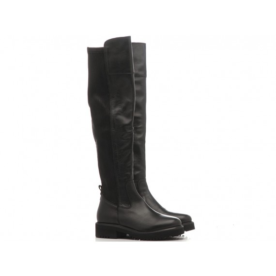 Keb Women's Boots Leather Black 953