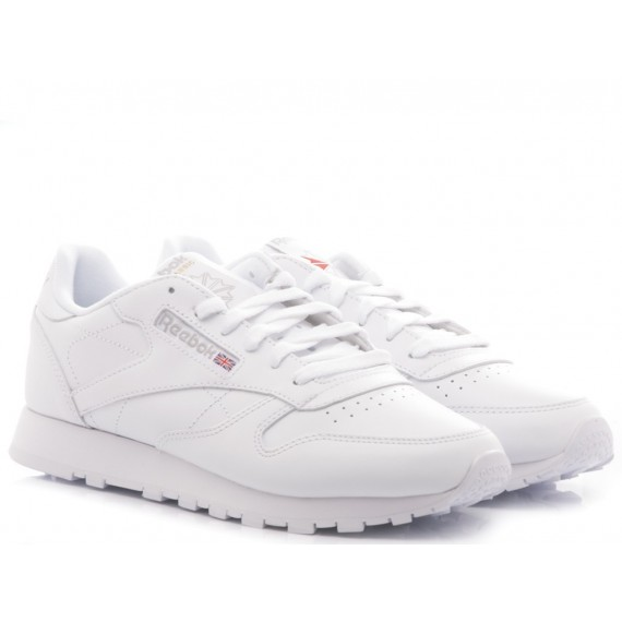 Reebok Women's Sneakers CL LTHR 2232 Leather White