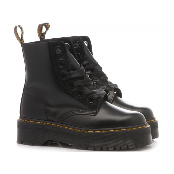 Dr. Martens Women's Ankle Boots Molly Black