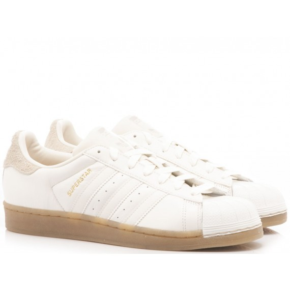 Adidas Sneakers Donna Superstar W White B37147