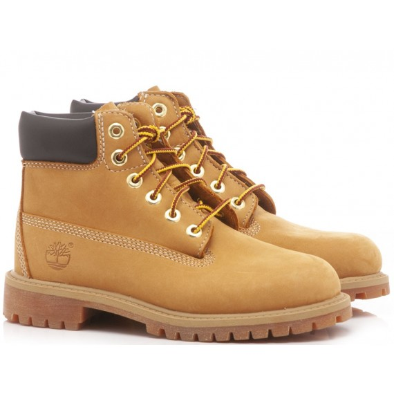 Timberland Children's Ankle Boots Nabuk Honey 12709