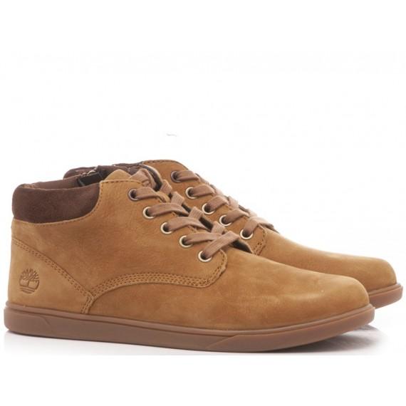 Timberland Children's Ankle Boots Nabuk Honey A1JCJ