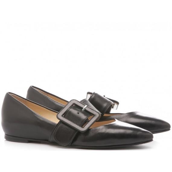 What For Women's Ballerina Shoes Siviglia Black BL1142