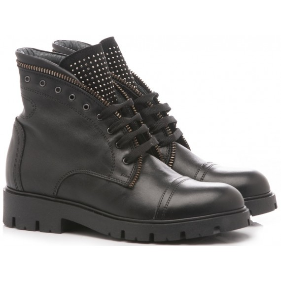 Chiara Luciani Children's Ankle Boots Leather Black D129