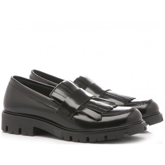 Florens Children's Loafers Leather Black Z8222