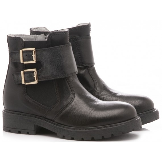 Nero Giardini Children's Ankle Boots Leather Black