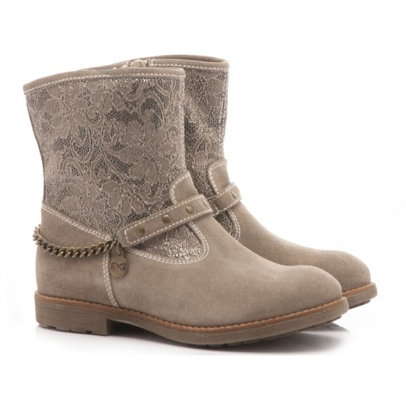 Nero Giardini Children's Ankle Boots Leather Taupe