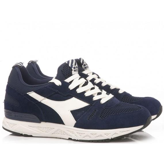 Diadora Men's Sneakers Titan Reborn Barra Blu