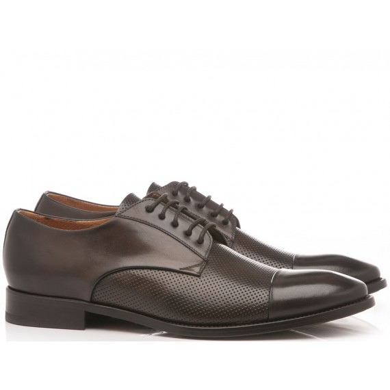 Brecos Men's Classic Shoes Leather Ciocolate 8687E19