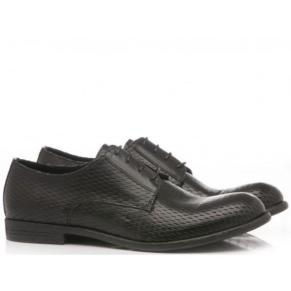 Pawelk's Men's Classic Shoes Cut Tequila 19013 Black