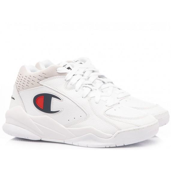 Champion Sneakers Uomo Zone Mid White