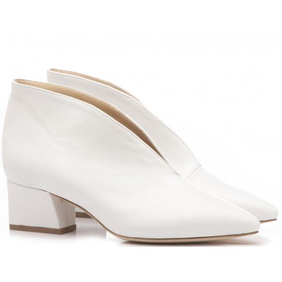 What For Women's Ankle Boots Siviglia White TR8019