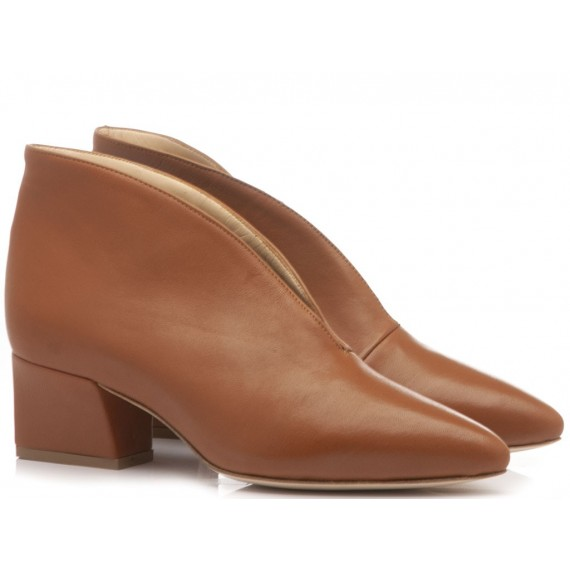 What For Women's Ankle Boots Seta Cuoio TR8019