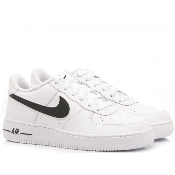 Nike Sneakers Donna Air Force 1-3 GS White
