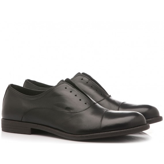 Franco Fedele Men's Classic Shoes Black Leather 6251