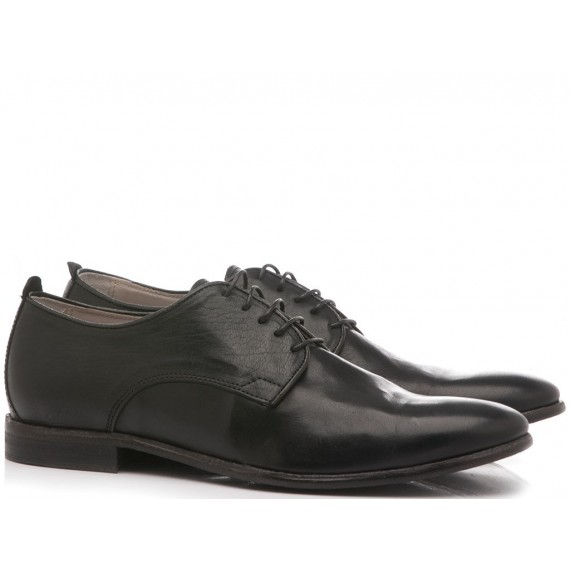 Luca Rossi Men's Classic Shoes Black 5780