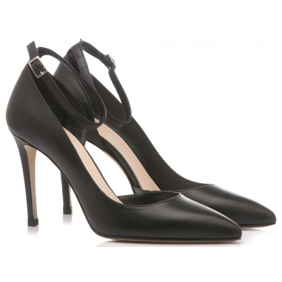 Chantal Scarpe Decollete Donna Nappa Nero