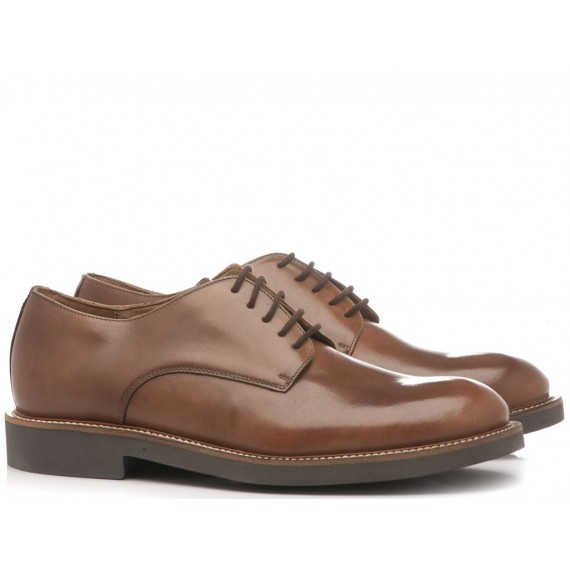 Frau Men's Shoes Leather Brown