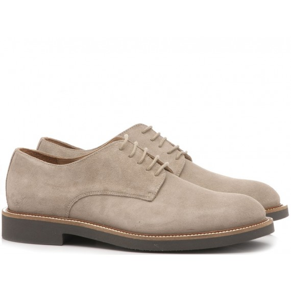 Frau Men's Shoes Suede Beige