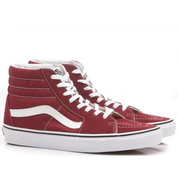 Vans Men's Sneakers Sk8-Hi Red VN0A38GEVG41