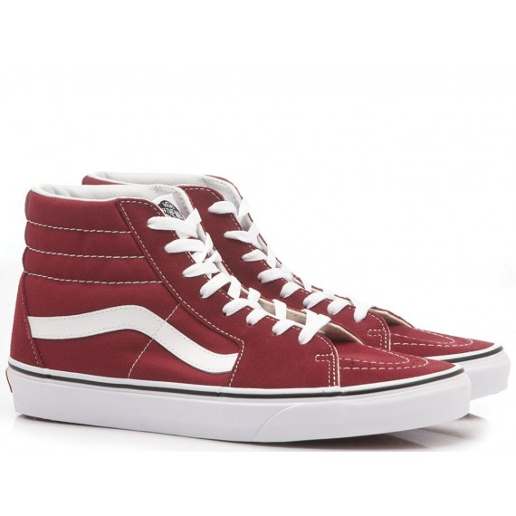 Vans Sneakers Uomo Sk8-Hi Red VN0A38GEVG41