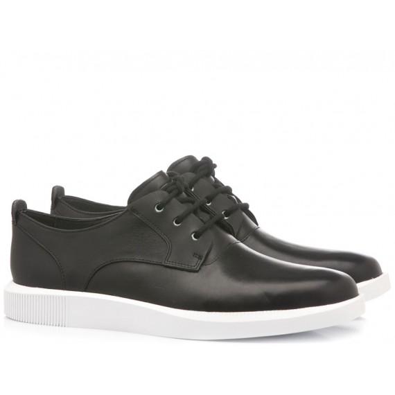Camper Men's Shoes Leather Black