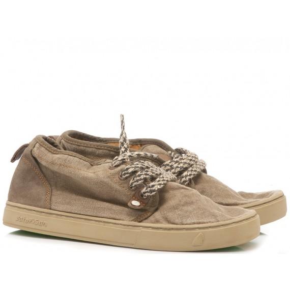 Satorisan Scarpe-Sneakers Uomo Tela-Lino Yasuragi Earth