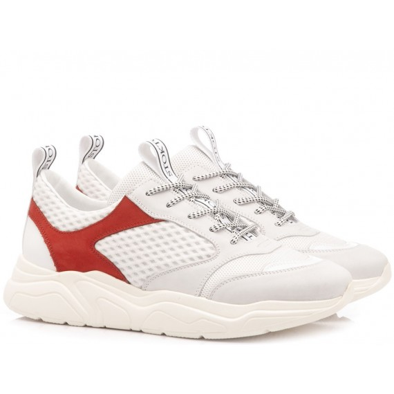Stokton Sneakers Uomo Bianco 33-U-SS19