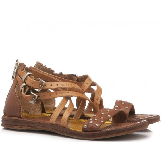 A.S. 98 Women's Sandals Leather Brown