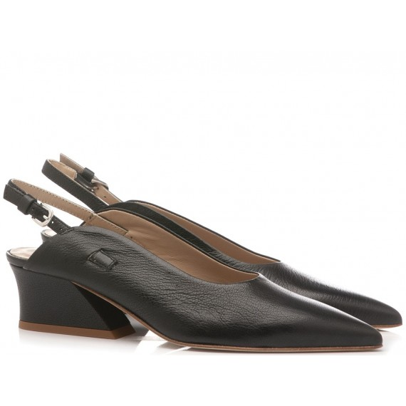Ettore Lami Woman's Shoes Lux Black