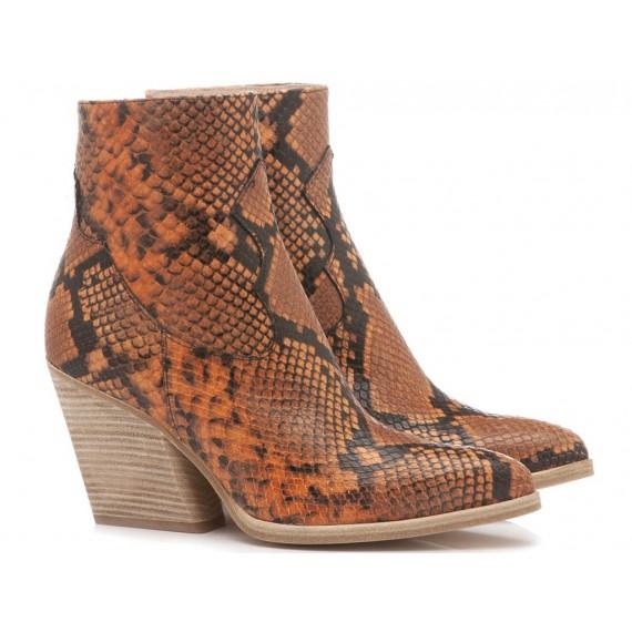 Mivida Women's Ankle Boots Orange 3754