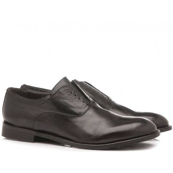 JP David Men's Classic Shoes Leather Black 6570-4 Bis