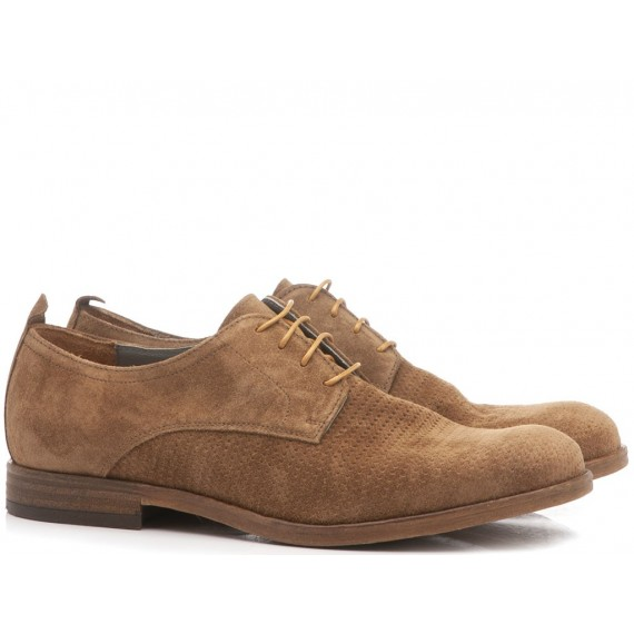 Marco Ferretti Men's Shoes Washed Suede Stone