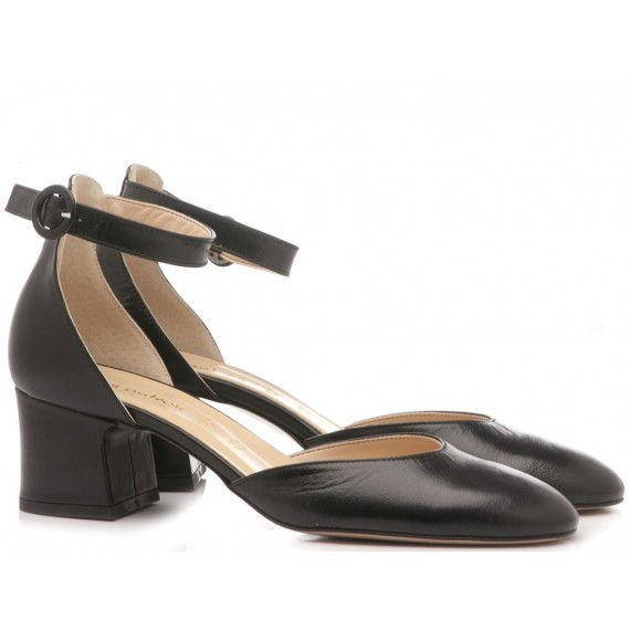 Les Autres Women's Shoes Leather Black 324