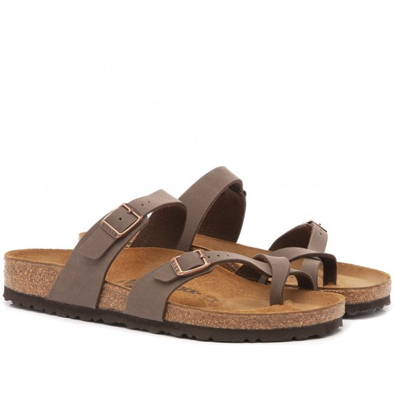 Birkenstock Women's Sandals Mayari Eva Moca