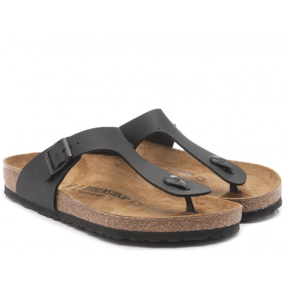 Birkenstock Men's Sandals Leather Black