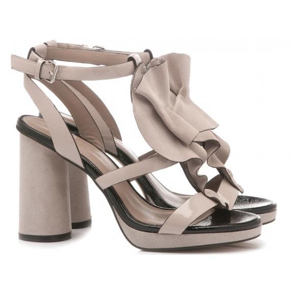 Elvio Zanon Women's Sandals EJ4403N Beige